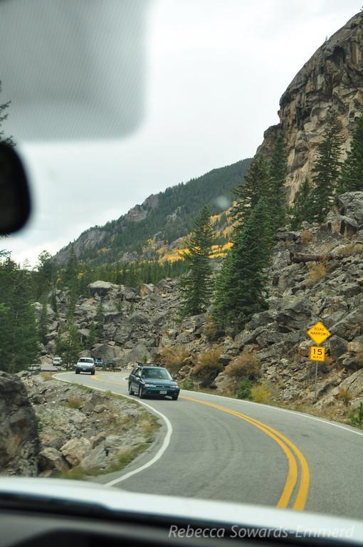 Descending into Aspen, CO