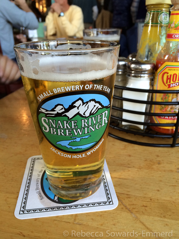 Our hotel was a block from Snake River brewing. Quite delicious beers and food!