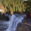 David photographing Upper Mesa Falls