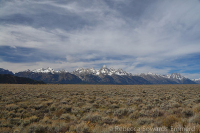 Back on the flats, we headed north up Antelope Flats road and enjoyed some more teton views.