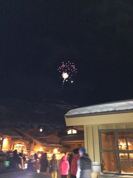 Finally, fireworks!