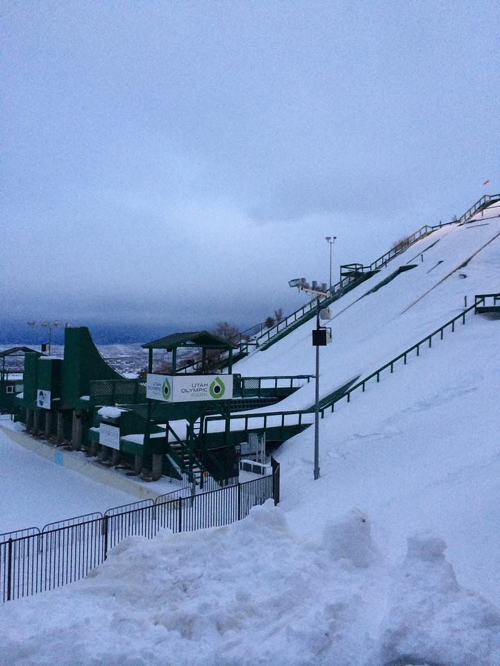 Park City Olympic facilities