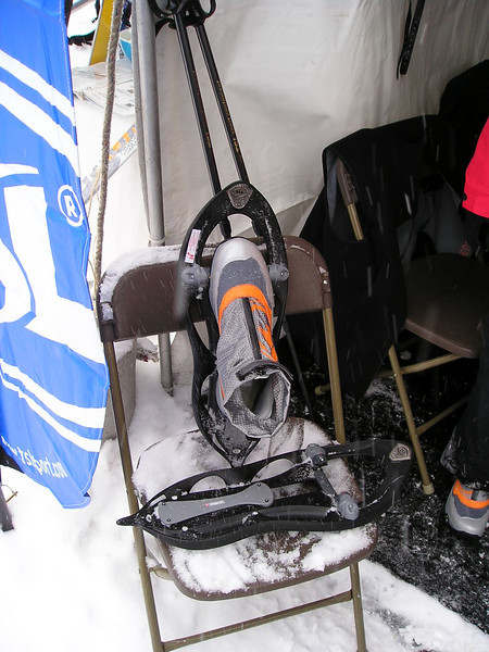 TSL Snowshoes<br /> <br /> New TSL running snowshoes with clip in running shoe