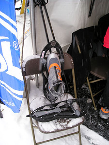 TSL Snowshoes  New TSL running snowshoes with clip in running shoe