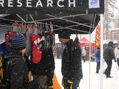 Outdoor Research Booth  Any new goodies?