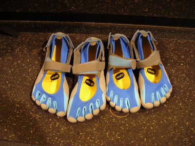 Vibram Five Fingers  Comfy water shoes