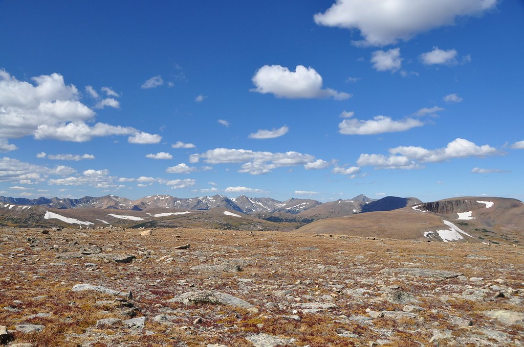 High rocky mountain Tundra.