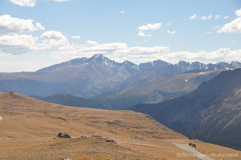 Longs Peak - the only 14er in Rocky Mtn National Park.