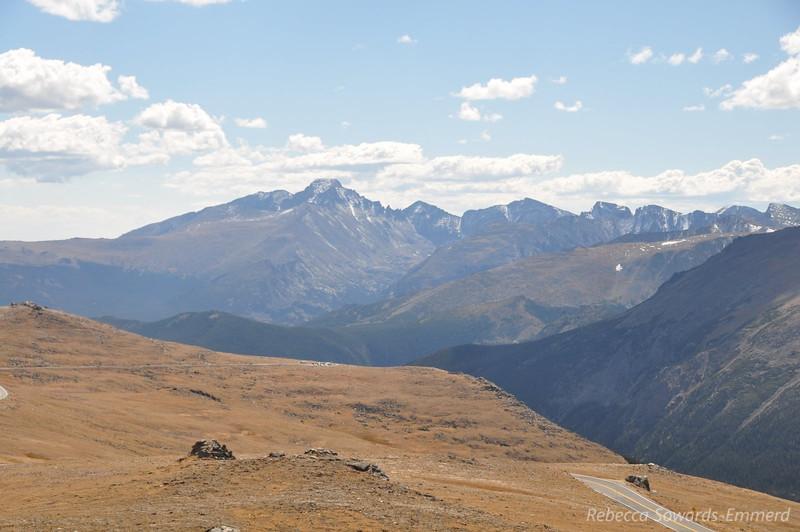 Longs Peak - the only 14er in Rocky Mtn National Park.