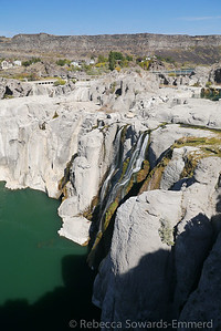 Shoshone Falls along the Snake River