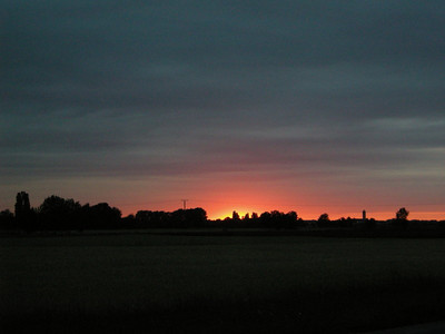 Sunset in Reilingen