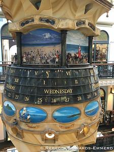 The Great Australian Clock in the Queen Victoria Building