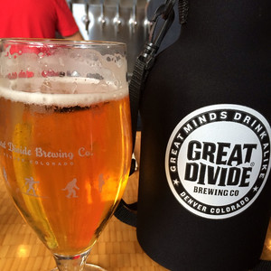 Next we headed into Denver for all of the GABF festivities. Stopped by Great Divide for a quick beer to kick things off.