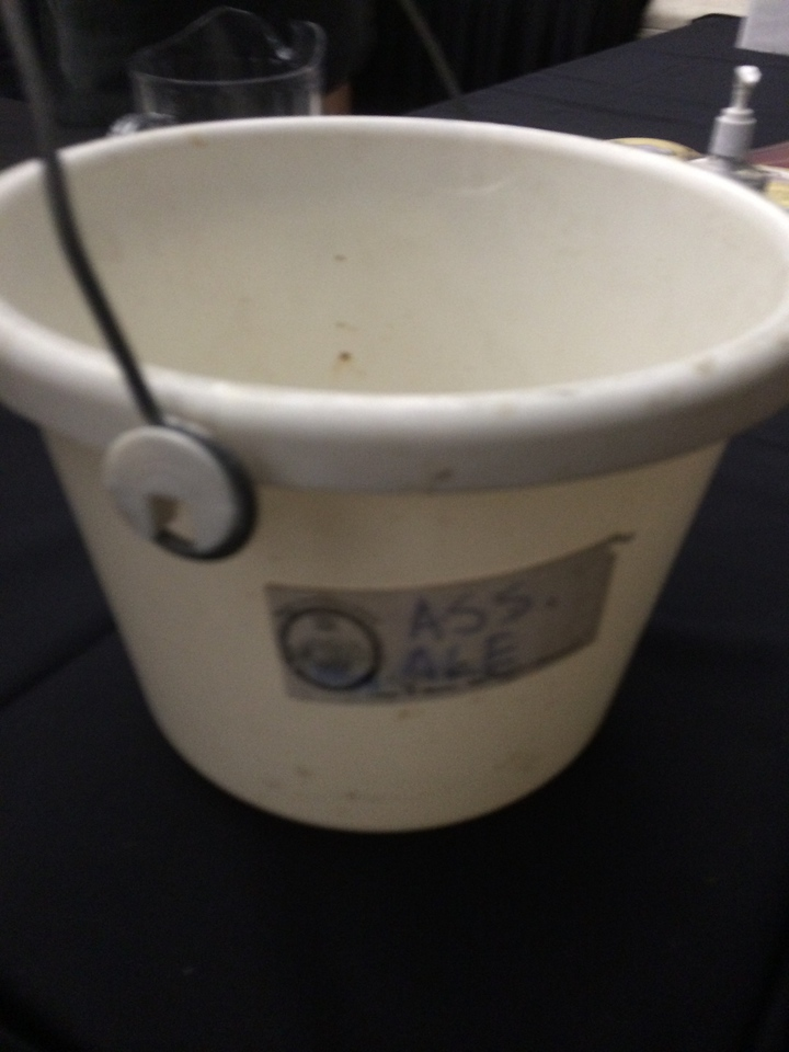 Dump bucket = ass ale. Pretty much.