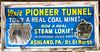 Ashaland, PA.  Pioneer Mine and Train.  23 Oct 2010.