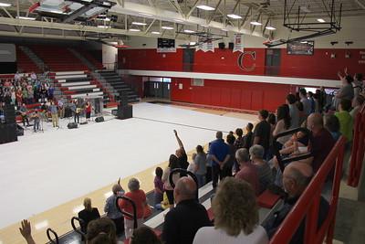2015,  Prayer and Praise Rally,  Cherokee High, Rogersville