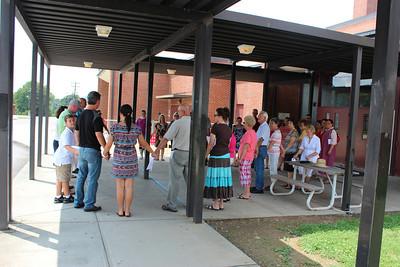 August 2012 School Prayer Walks 500 participants