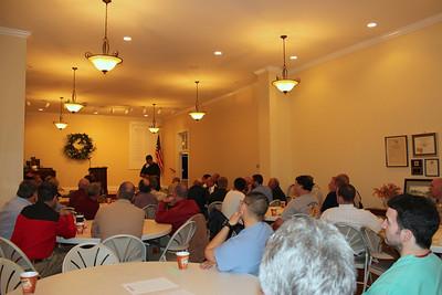 Bi-weekly men's prayer breakfast 50-70 participants