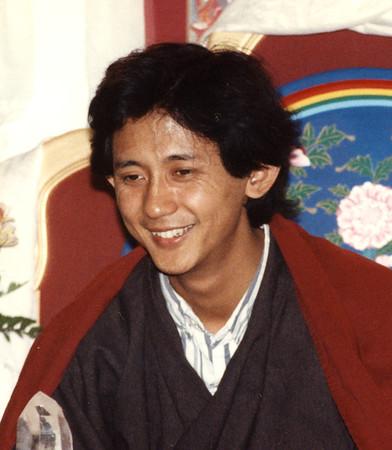 Dzigar Kongtrul Rinpoche 1989
