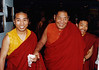 H.H. Khenpo Jigmey Phuntsok, with Khenpo Namdrol and Jigme Lama, at KPC.