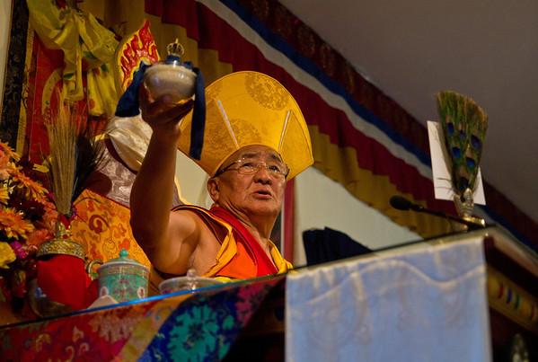 HH Ngawang Tenzin - 2011 visit