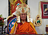 TK-239_19, H.H. Ngawang Tenzin, with crown, by Ted Kurkowski