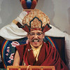 Ngagpa Yeshe Dorje Rinpoche with crown