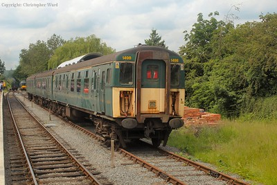The preserved, ex-Lymington 3CIG unit