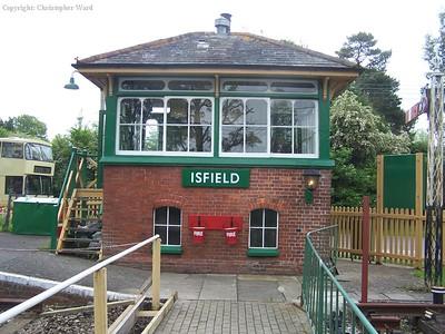 Isfield signal box