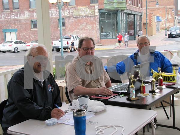 Mel Schroeder, Steve Hoesel, and Hans Neilsen