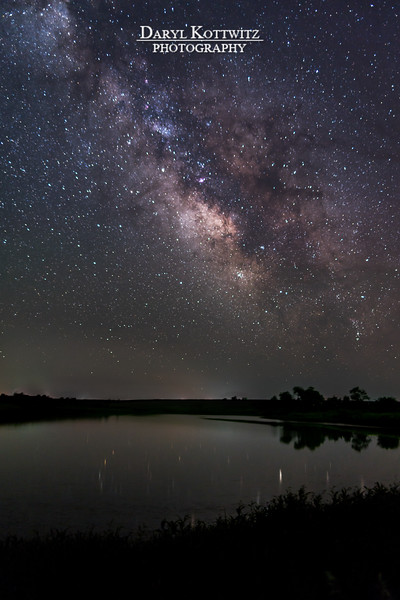 Milky Way from the Farm Pond