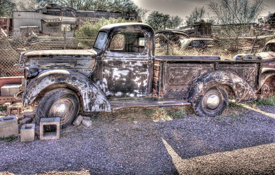 Old Truck-1 Source Shot, processed with HDR