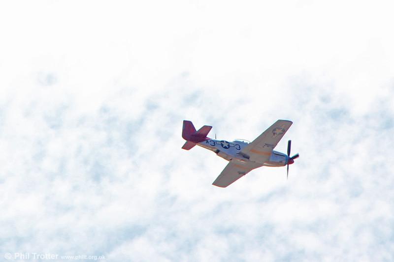 North American P-51D Mustang 44-72035. Swansea, 30th June 2018.
