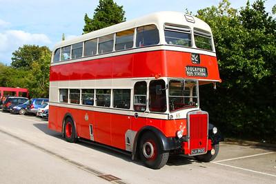 Bus in Totnes 31/08/12
