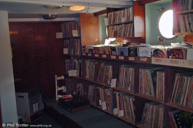 Record library; hardly a CD in sight!