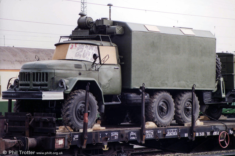 One of the Soviet Army's interesting and aggressive looking trucks. A ZIL 131 unless I'm mistaken. (There's a good chance I'm right - they built literally millions!).