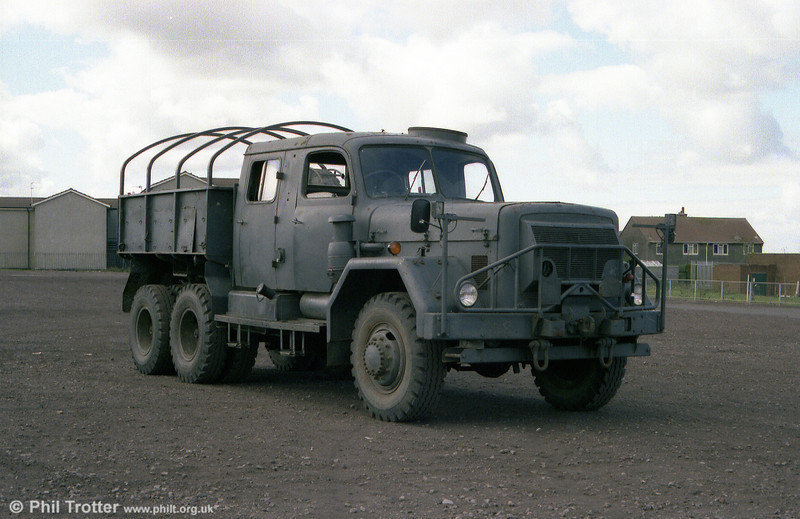 To replace the AEC Matador, SWT purchased this former Swiss Army 1957 Magirus-Deutz Uranus seen before conversion to a recovery vehicle.