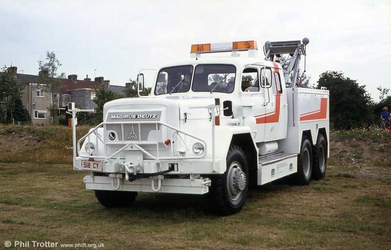 The finished article! SWT's converted Magirus-Deutz Uranus recovery vehicle.