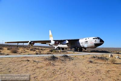 NASA B52 @ Edwards Air Force Base