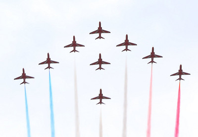 Red Arrows over Dartmouth 30/08/13  Watch the video at: http://youtu.be/SlDoKhoGeRk