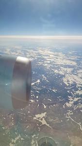 View from AC869 - 09:00 Heathrow to Toronto  11/02/19
