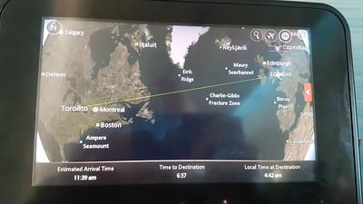 Flight AC869 - 09:00 Heathrow to Toronto  11/02/19