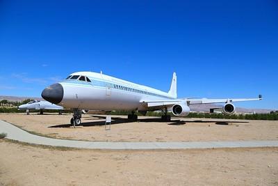 Convair 900 Jetliner in Mojave