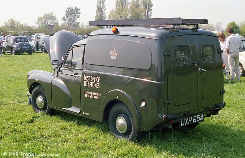 LCV - Post Office Telephones - UXH 654
