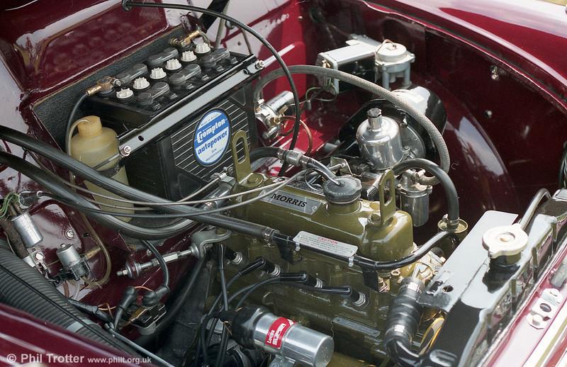 The famous 1098cc BMC A series engine.