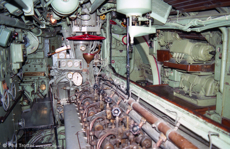 The engine room of U3 at Malmo.
