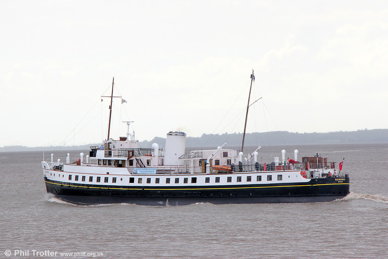 MV Balmoral in the River Severn off Sharpness, en route for Avonmouth and Bristol on 7th June 2014.
