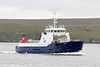 Shetland Islands Council Ferry 'Bigga' used on the Bluemull route to/from Yell. 9th July 2013.