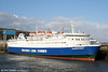 MV Superferry at Swansea on 2nd April 2006. The 15K ton ship was built in 1972 and worked on the Swansea - Cork route until the end of the 2006 season.
