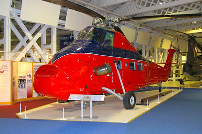 Wessex Helicopter in RAF Hendon  24/10/12